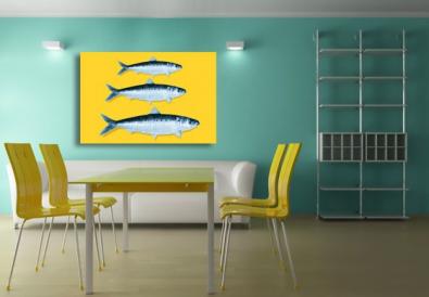 La modernité de ma maison avec un simple tableau cuisine