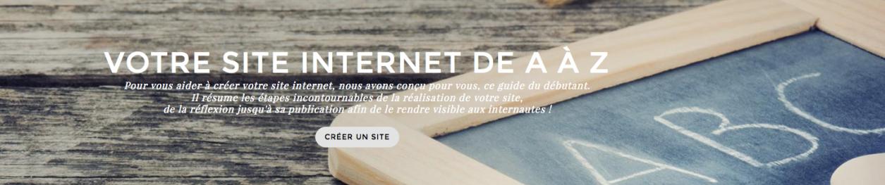 Grâce à Ipaoo, j'ai su comment créer un site internet