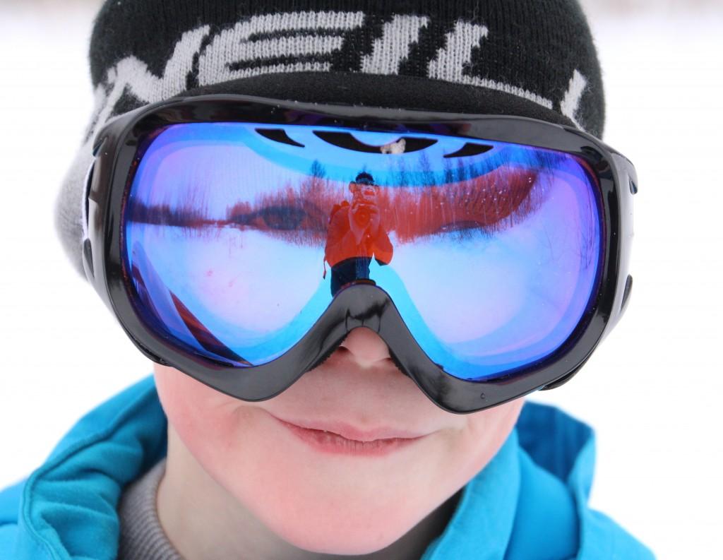 Des lunettes de ski évolutives