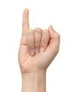 le petit doigt