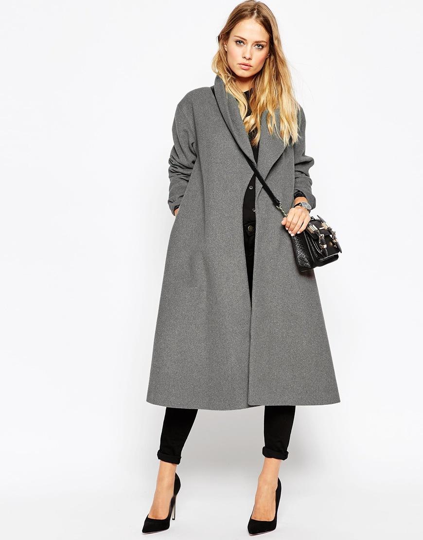 manteau long femme d couvrez cette s lection de mod les. Black Bedroom Furniture Sets. Home Design Ideas